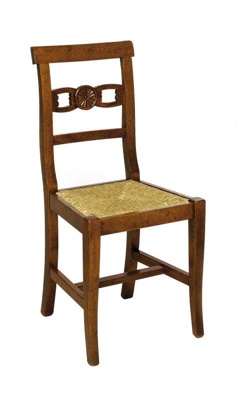 Sedie legno rustiche bissoli for Poltrone rustiche
